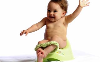 Когда сажать ребенка на горшок: признаки готовности и методы приучения