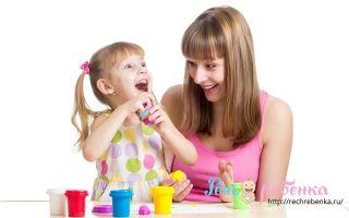 Развитие речи у детей 3-4 лет: как определить задержку и упражнения для профилактики развития