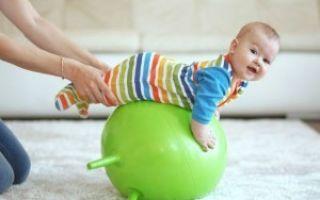 Гимнастика для месячного ребенка — примеры упражнений и действие на организм