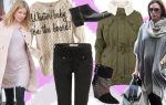 Зимняя одежда для беременных: модные идеи для будущих мам