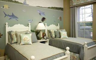Как оформить детскую комнату для мальчика и девочки?
