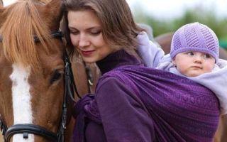 Слинг для новорожденного: советы по выбору и отзывы покупателей