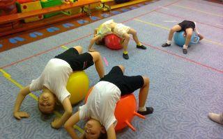 Развитие вестибулярного аппарата у детей: список игр и упражнений, возрастные этапы развития