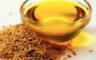 Лечение геморроя при помощи льняного масла в домашних условиях