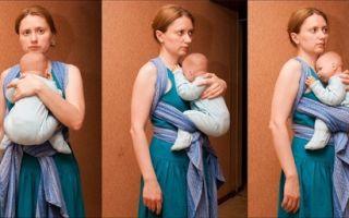 Ребенок не сидит в слинге: физиологические и психологические предпосылки
