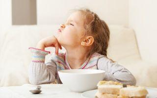 У ребенка плохой аппетит: внешние и внутренние причины, методы обследования и лечения, советы родителям
