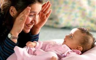 Игры с ребенком от 0 до 12 месяцев: интересные примеры, полезные советы родителям