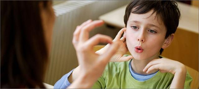 Виды нарушений речи у детей