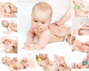 Гимнастика для месячного ребенка