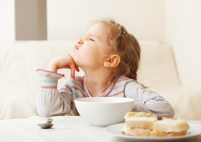 У ребенка плохой аппетит