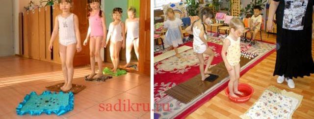Закаливание детей в детском саду: методы и рекомендации