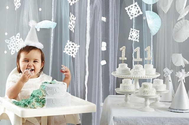 Празднование первого дня рождения ребенка