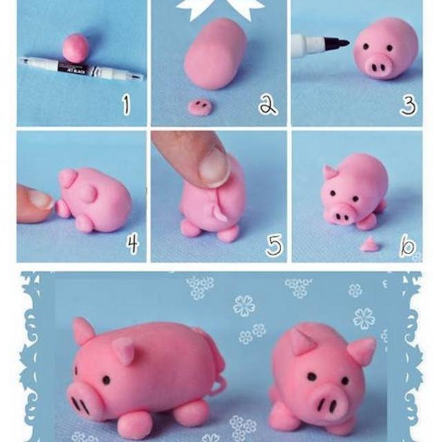 Поделки из пластилина для детей дошкольного возраста: легкие поделки пошагово