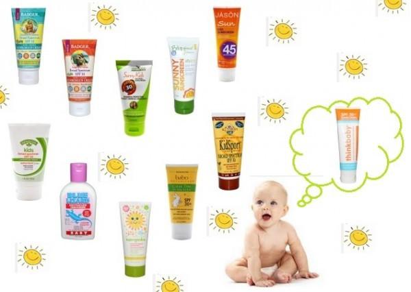 Солнцезащитный крем для детей: обзор предлагаемой косметики