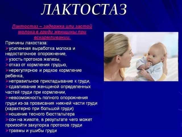 Лечение мастита у кормящей матери