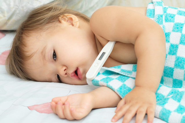 Симптомы болезней у ребенка