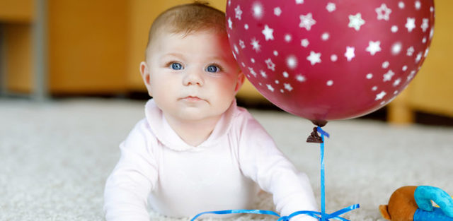 Развитие ребенка 6 месяцев