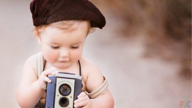 Смешные фото маленьких детей