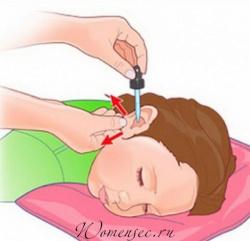 Ушная боль у ребенка как обезболить