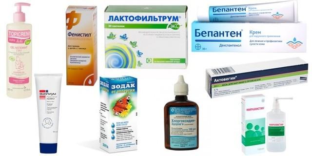 Аллергический дерматит у детей: виды, симптомы, лечение, диета