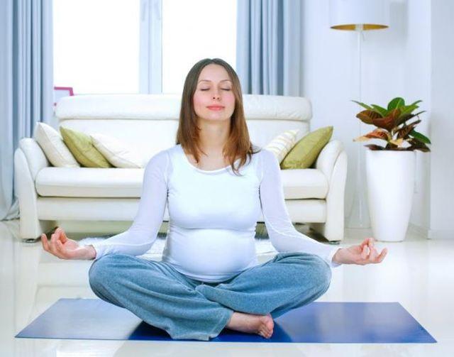 Правильное дыхание при беременности