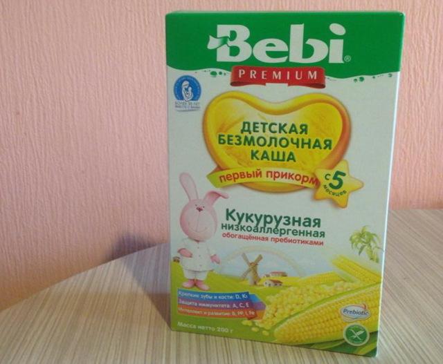 Как варить кукурузную кашу на молоке ребенку до года: рецепт для грудничка