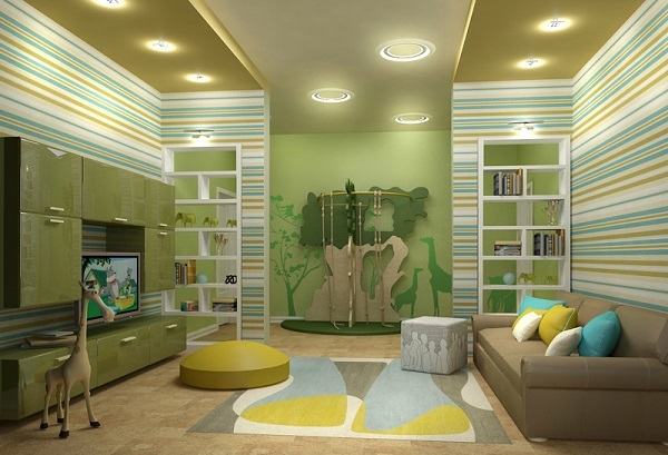 Как оформить детскую комнату?