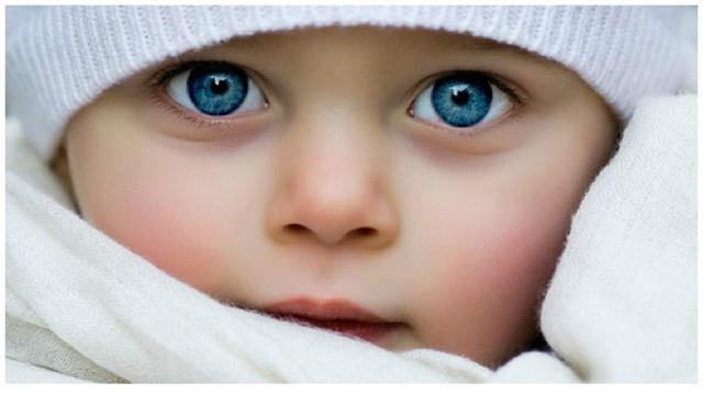 Как получаются зеленые глаза