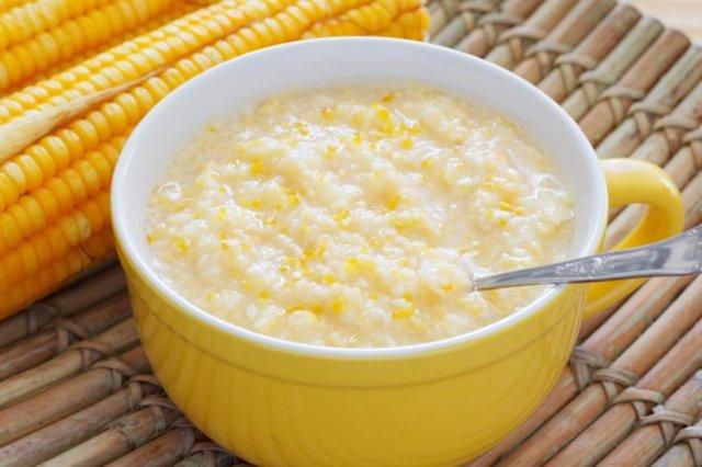 Кукурузная каша для детей: польза, как варить, лучшие рецепты