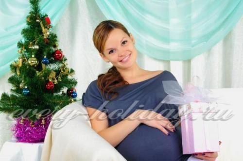 Праздничный стол для беременных