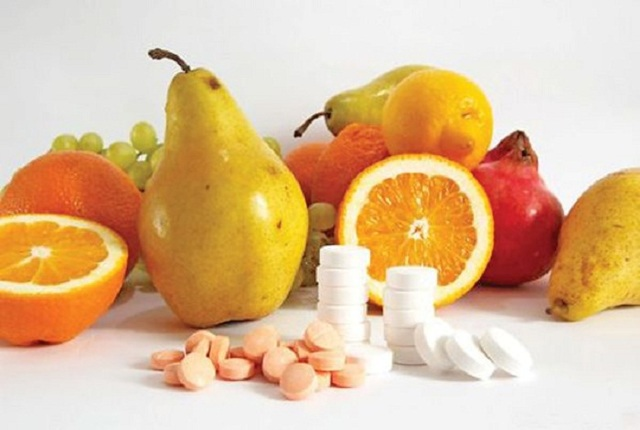 Содержание витаминов в продуктах питания