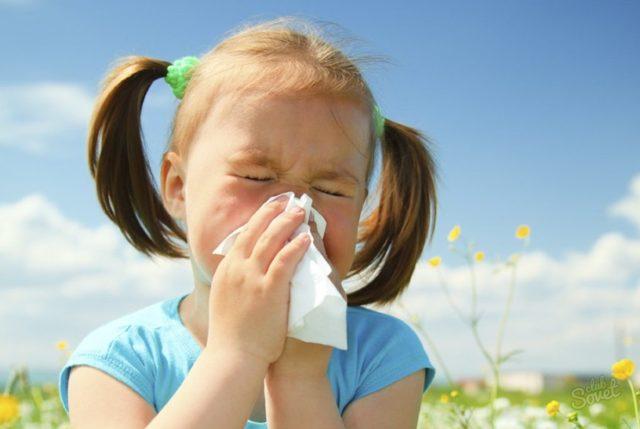 Как справиться с аллергическим кашлем у детей