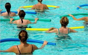 Аквааэробика для беременных – упражнения дающие результат