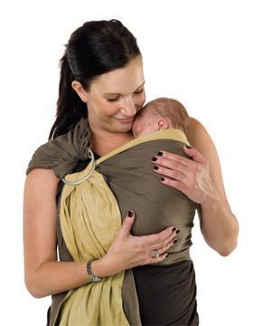 Слинг с кольцами. Как носить, одевать, завязать шарф для новорожденных. Инструкция, видео