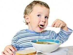 Особенности питания детей до трех лет