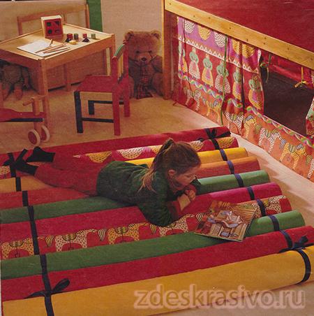 Уют в детской комнате своими руками