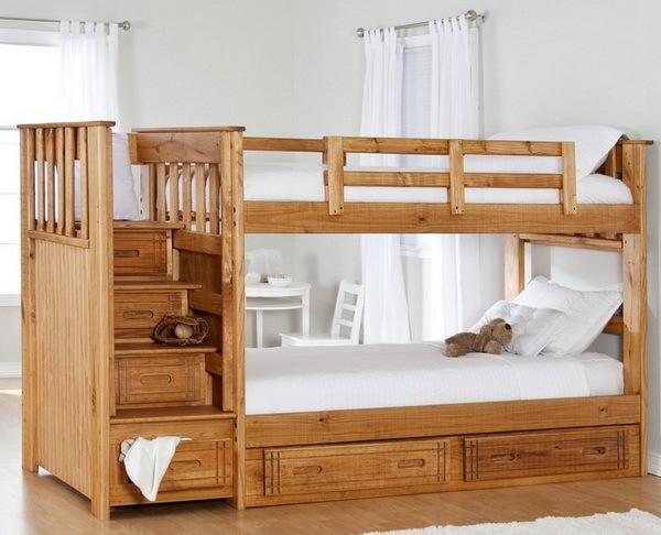 Как выбрать двухъярусную кровать для ребенка