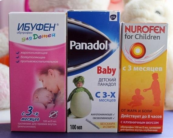 Какую температуру у ребенка нужно сбивать