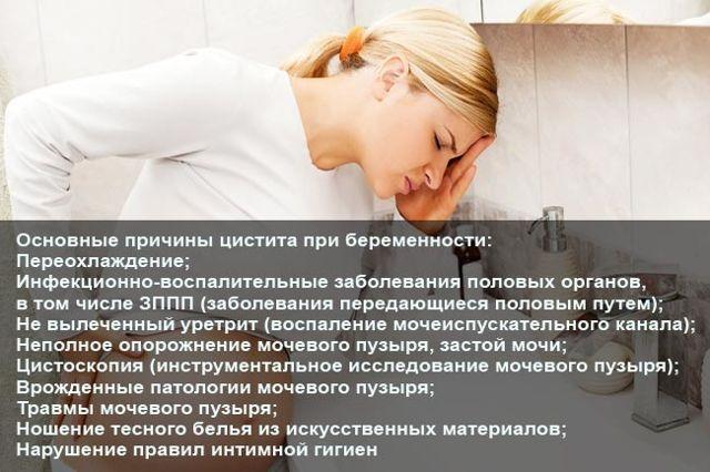 Лечение цистита при беременности: медикаментозные и народные средства