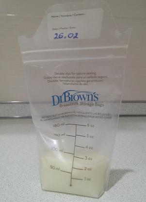 Как хранить сцеженное грудное молоко