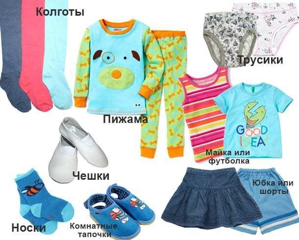 Собираем ребенка в детский сад