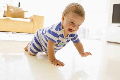 Развитие ребенка в 7 месяцев