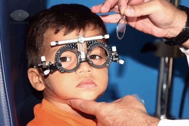 Как проверить зрение у ребенка