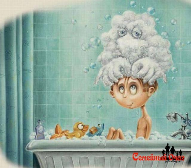 Ребенок боится мыть голову