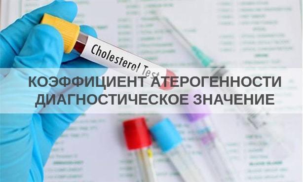 Для чего определяется показатель коэффициента атерогенности