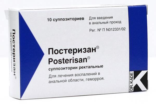 Как применять Постеризан при геморрое?