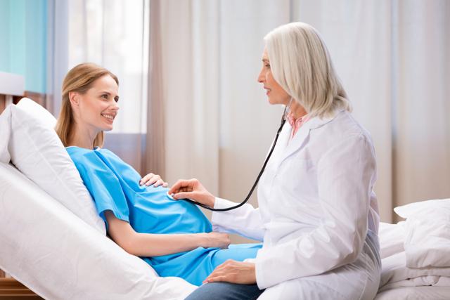 Контроль сердцебиения у плода во время беременности
