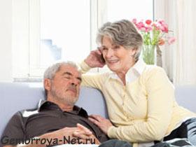 Особенности геморроя у пожилых людей