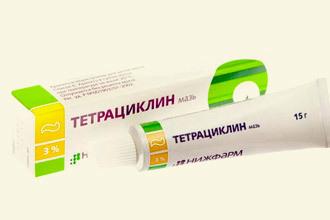 Как применять мазь Тетрациклин при геморрое?