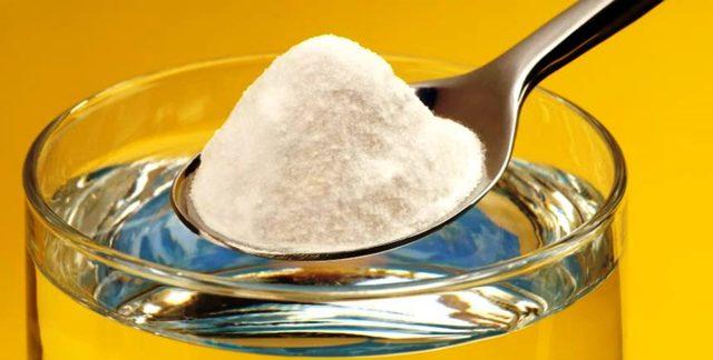 Домашнее лечение - сода при геморрое